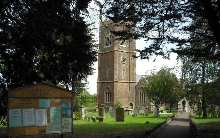 Carhampton Church, Sept 2012: Copyright MG Mason 2012