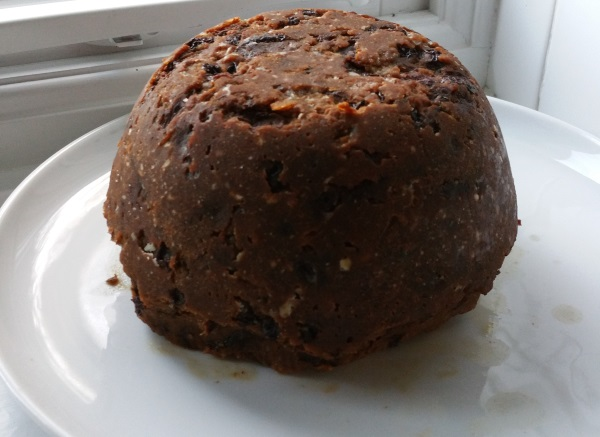 My first ever Christmas Pudding Copyright MG Mason 2015