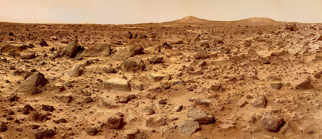 Mars surface NASA