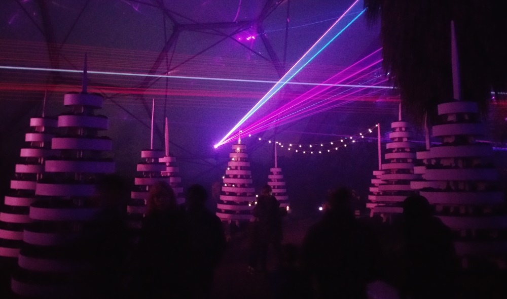 Eden Project Sound and Lights 2016. Copyright: MG Mason 2016